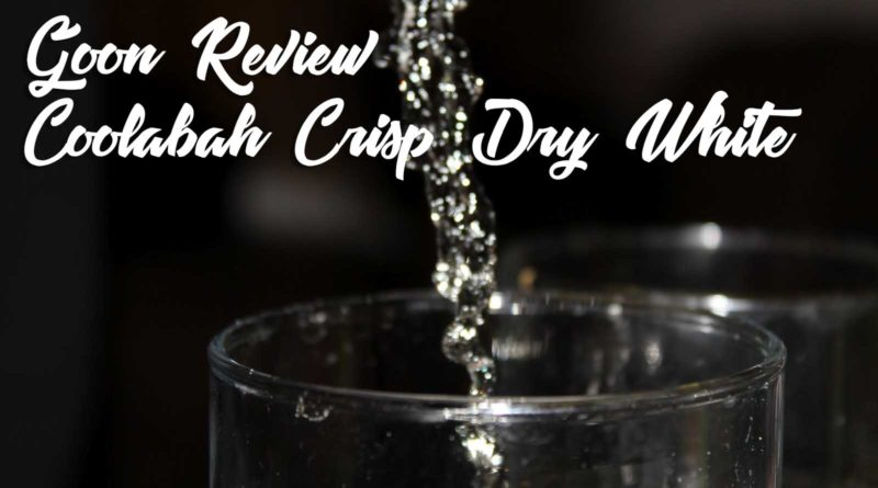 Coolabah-Crisp-Dry-White-|-Goon-(Box-Wine)-Review-2