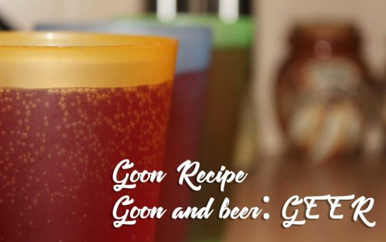 Goon (Box Wine) and Beer Mix | Goon Recipe