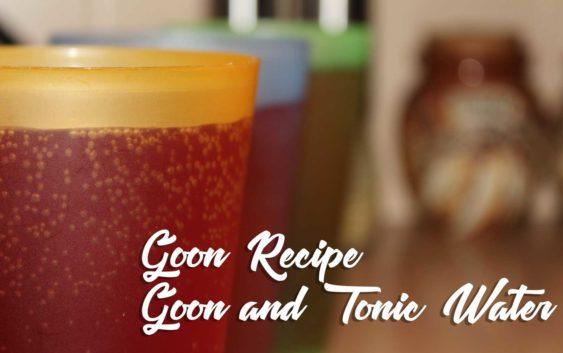 Goon (Box Wine) and Tonic Water | Goon Recipe