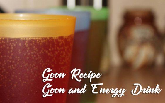 Goon and V Blue Energy Drink | Goon Recipe