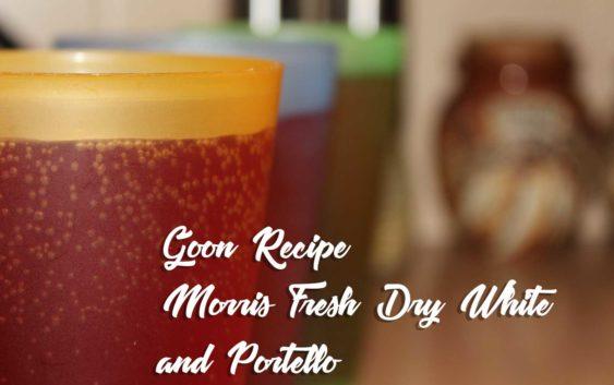 Morris Fresh Dry White and Portello | Goon Recipe