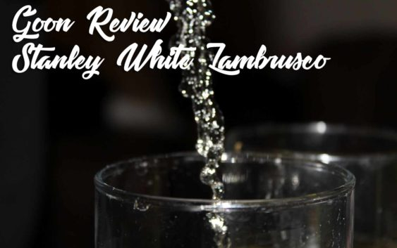 Stanley White Lambrusco | Goon (Box Wine) Review