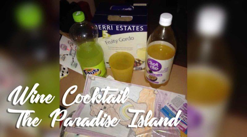 Paradise-Island-Goon-Cask-Box Wine-Cocktail-Recipe