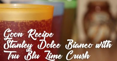 Stanley Dolce-Bianco-with-Tru-Blu-Lime-Crush-Goon-Mixer-Recipe